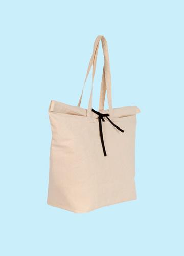 Shopper in cotone biologico o riciclato